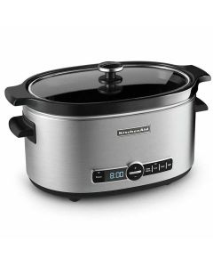 KitchenAid Slow Cooker With Glass Lid 6 Liter
