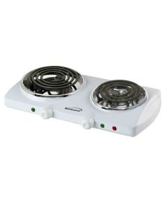 Brentwood Electric Double Burner 1500W