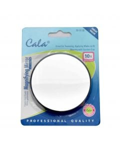Cala 10x Mini Reflection Precision Magnifying Mirror With 2 Suction Cups