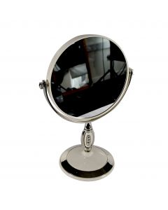 Round Double Sided Mirror With Stand
