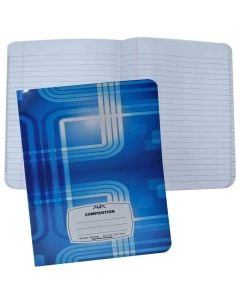 Aura Single Lined Notebook With 100 Sheets