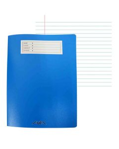 Aura A4 Single Line Notebook 60 Sheets