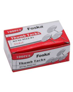 Foska Thumb Tacks 1000 Pieces