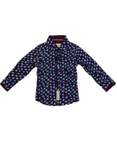 Cotton Shirt For Boys Sizes 6-24M