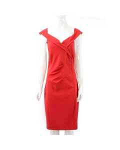 Ladies Red Dress