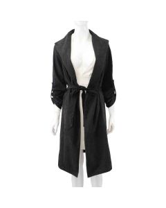 Ladies Coat With Belt