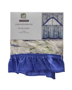 Kitchen Curtain Set 3 Pieces